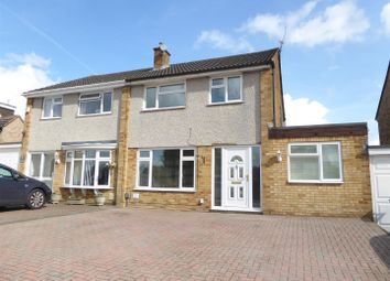 Thumbnail 3 bed semi-detached house for sale in Apollo Close, Dunstable