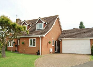 Thumbnail 4 bed detached house for sale in Church View, Northborough, Cambridgeshire