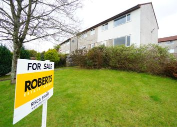 Thumbnail 3 bed semi-detached house for sale in Wentwood Place, Risca, Newport, Caerphilly