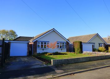 Thumbnail 3 bed detached bungalow for sale in Ayscough Grove, Caistor, Market Rasen, Lincs