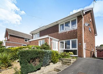 Thumbnail 3 bed semi-detached house for sale in Peveril Crescent, West Hallam, Ilkeston