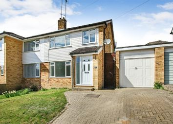 Thumbnail 3 bed semi-detached house for sale in Milton Crescent, East Grinstead, West Sussex