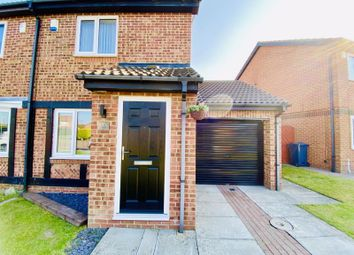 Thumbnail 2 bed semi-detached house for sale in Fareham Grove, Boldon Colliery