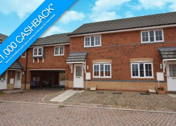 Thumbnail 2 bed terraced house for sale in Wagtail Crescent, Whitby