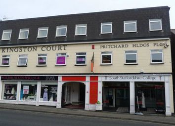 Thumbnail 2 bedroom flat to rent in Kingston Court Shopping Arcade, Walsall Road, Cannock