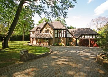Thumbnail 5 bed detached house to rent in Godolphin Road, Weybridge