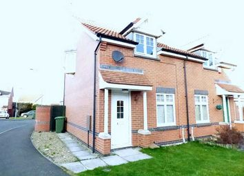Thumbnail 2 bed semi-detached house for sale in Ingleby Way, Blyth