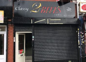 Thumbnail Retail premises for sale in Ladypool Road, Sparkbrook, Birmingham