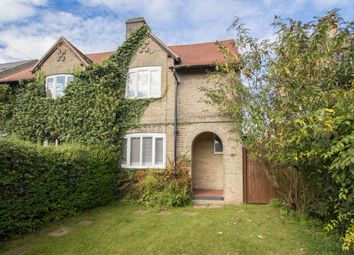 Thumbnail 3 bed semi-detached house for sale in Horningsea Road, Fen Ditton, Cambridge