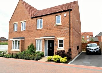 Thumbnail 3 bedroom semi-detached house for sale in Avocet Close, Mexborough, South Yorkshire