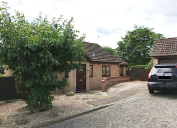 Thumbnail 2 bedroom detached bungalow for sale in Pinners Way, Bury St. Edmunds