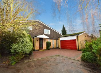 Thumbnail 4 bed detached house to rent in Stoughton Close, Oadby, Leicester