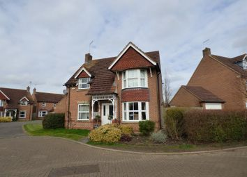 Thumbnail 3 bed detached house for sale in Bevan Close, Warmington, Peterborough