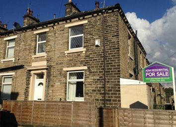 Thumbnail 2 bedroom end terrace house for sale in Hoffman Street, Milnsbridge, Huddersfield