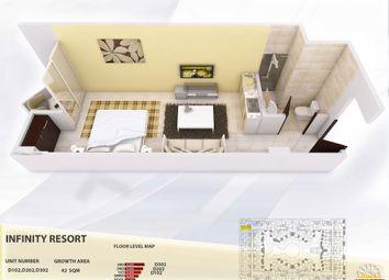 Thumbnail Studio for sale in D102, Aqua Infinity Resort, Hurghada, Egypt