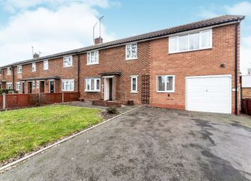 Thumbnail 4 bedroom end terrace house for sale in Redwood Road, Walsall