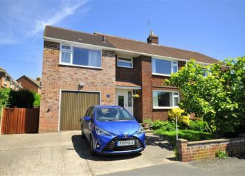 Thumbnail 4 bed semi-detached house for sale in Chosen Drive, Churchdown, Gloucester