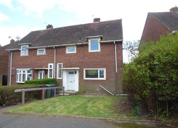 Thumbnail 3 bedroom semi-detached house for sale in Benton Crescent, Walsall, West Midlands
