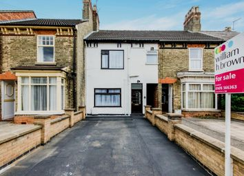Thumbnail 3 bed terraced house for sale in Harrowby Road, Grantham