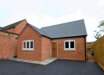 Thumbnail 2 bed detached bungalow for sale in High Street, Rocester, Uttoxeter