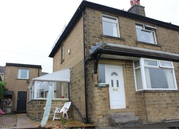 Thumbnail 3 bed semi-detached house for sale in Keighley Road, Oakworth, Keighley, West Yorkshire