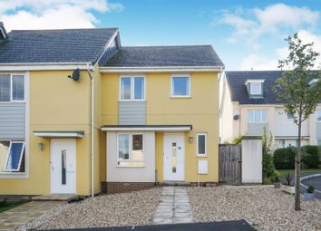 Thumbnail 3 bed end terrace house for sale in Millin Way, Dawlish