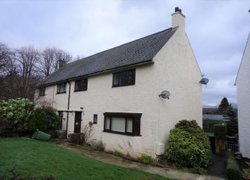 Thumbnail 3 bed semi-detached house for sale in Maes Hyfryd, Beaumaris