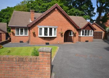 Thumbnail 3 bed detached bungalow for sale in The Bridle Path, Newcastle-Under-Lyme
