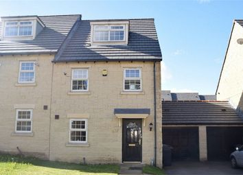 Thumbnail 3 bed semi-detached house for sale in Norfolk Avenue, Ferndale, Huddersfield, West Yorkshire