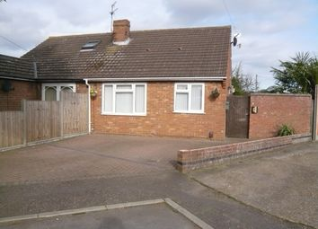 Thumbnail 2 bedroom semi-detached bungalow for sale in Linacre Close, Sprowston, Norwich