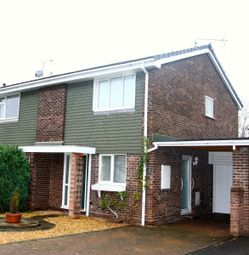 Thumbnail 3 bed semi-detached house to rent in Stretton Avenue, Newport