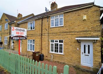 Thumbnail 2 bed end terrace house to rent in Dongola Road, Strood, Rochester, Kent