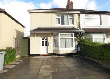 Thumbnail 2 bedroom semi-detached house for sale in Pear Tree Avenue, Crewe