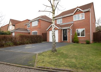 Thumbnail 3 bed detached house for sale in Fareham Close, Walton-Le-Dale, Preston