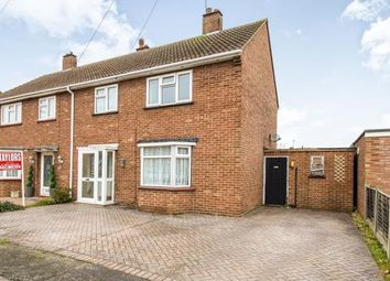 Thumbnail 3 bed semi-detached house for sale in Queensway, St. Neots, Cambridgeshire