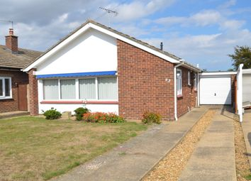 Rosemary Avenue, Felixstowe IP11. 3 bed detached bungalow for sale