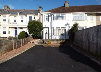 Thumbnail 3 bedroom end terrace house for sale in Plymstock, Devon