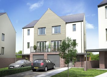 Thumbnail 4 bedroom semi-detached house for sale in The Harrison, Fusion, Paignton