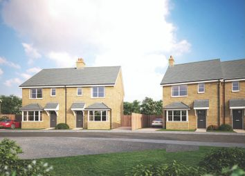 Thumbnail 3 bedroom semi-detached house for sale in Off Lumen Road, Royston