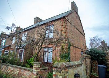 Thumbnail 2 bed end terrace house for sale in Laburnum Road, Sandy, Bedfordshire