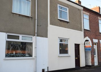 Thumbnail 2 bed terraced house to rent in Central Road, Hugglescote, Coalville, Leicestershire