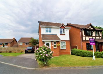 Thumbnail 3 bed detached house for sale in Powys Close, Buckley