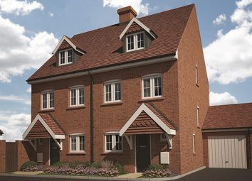 "Thumbnail 3 bed end terrace house for sale in ""The Rotherwick"" at Farnham Road, Odiham, Hook"