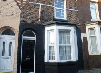 Thumbnail 3 bed terraced house for sale in Harebell Street, Kirkdale, Liverpool