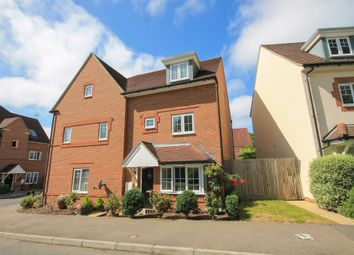 Thumbnail 4 bed semi-detached house for sale in Greenhurst Drive, East Grinstead