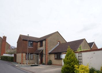 Thumbnail 4 bed detached house for sale in Rochford Close, Grange Park, Swindon