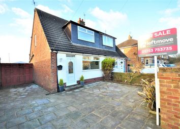 Thumbnail 2 bed semi-detached house for sale in Southfield Drive, Normoss, Blackpool, Lancashire