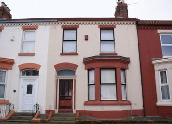 Thumbnail 4 bed terraced house for sale in Allington Street, Aigburth, Liverpool