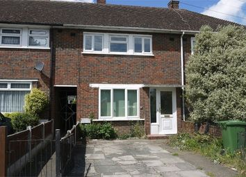 Thumbnail 3 bed terraced house to rent in Usk Road, Aveley, South Ockendon, Essex
