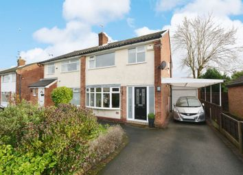 Thumbnail 3 bed semi-detached house for sale in Rossendale Road, Heald Green, Cheadle